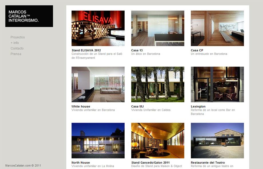 Proyectos web - Marcos catalan ...